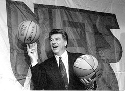 Basketball coach, Chuck Daly